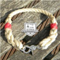ROPE DOG COLLAR - HEMP